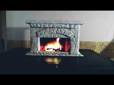 На огонь можно смотреть вечность. Камин  своими руками.