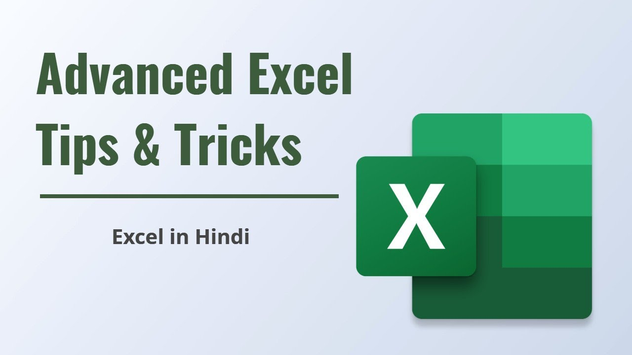 Learn Excel In Hindi Course
