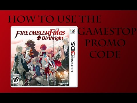 How to use the gamestop promo code for fire emblem fates for Firebox promotional code
