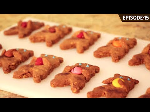 Learn how to make quick, easy and cute eggless teddy shaped cookies