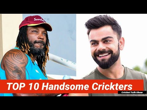 TOP 10 Most HANDSOME Cricketers in the World | #CricketTalkShow