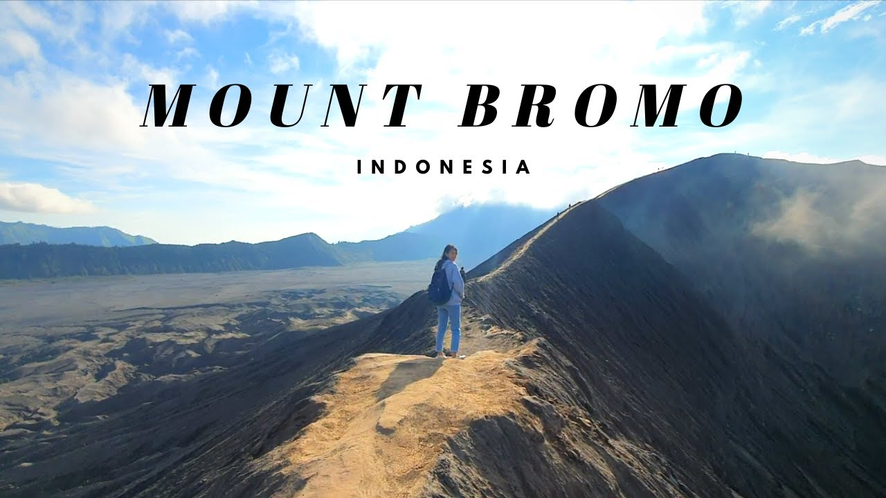 Mount Bromo, Indonesia 🌋  hiking an active volcano