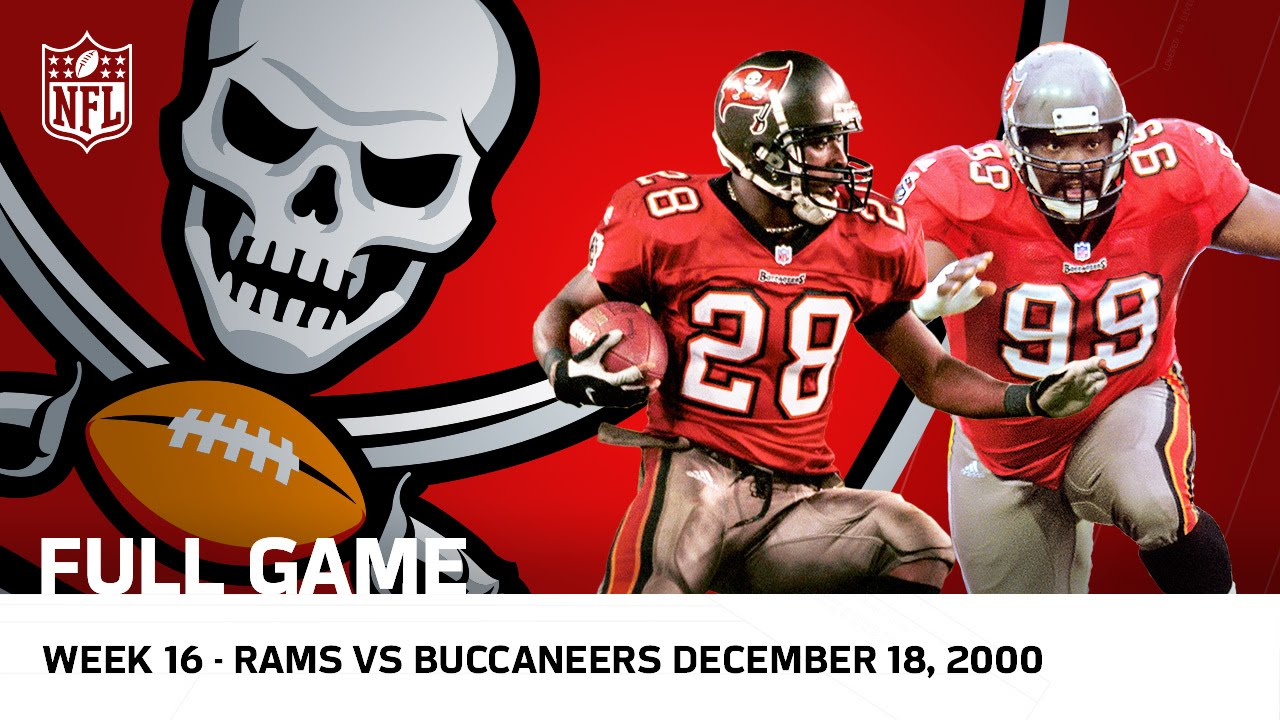 buccaneers revenge buccaneers vs rams week 16 2000 nfl full game youtube buccaneers revenge buccaneers vs rams week 16 2000 nfl full game