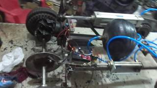 Mechanical engineering students projects-Vacuum braking, automobile project