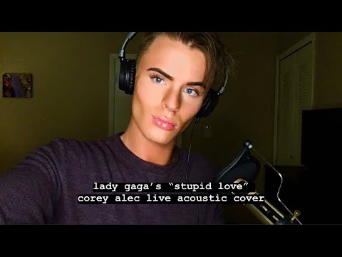 "Lady Gaga ""Stupid Love"" - Corey Alec Live Acoustic Cover"