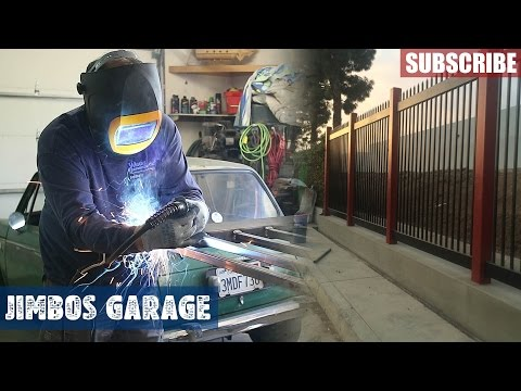 Welding Fence & Gate - Jimbos Garage