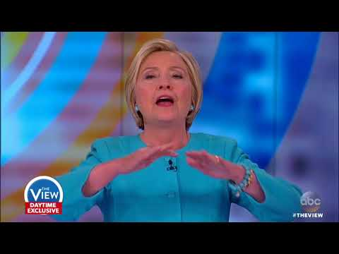Hillary Clinton On Giving Trump 'A Chance To Lead', North Korea, Bernie Sanders' Role In Election