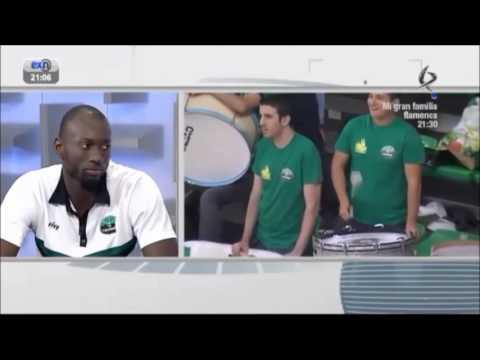 Mansour Kasse highlights + entrevista TV - Cáceres vs Ávila 13/10/2013
