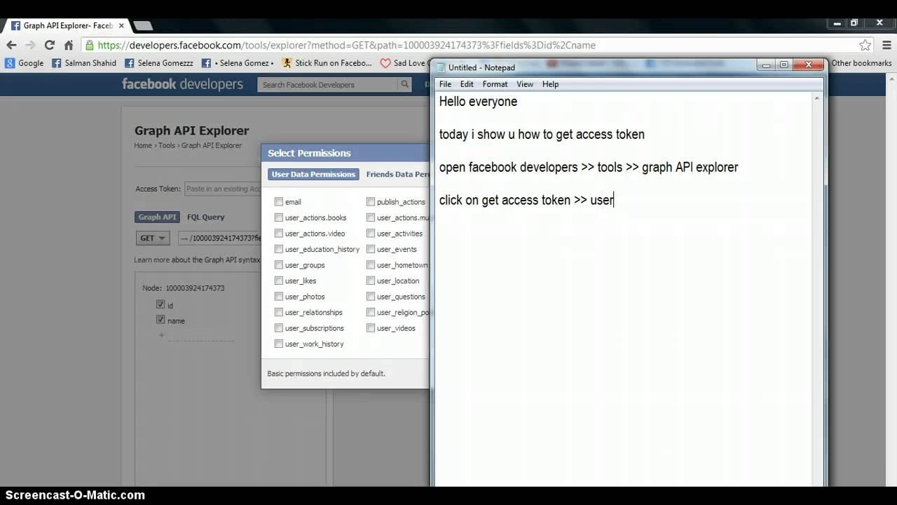 Facebook php sdk error validating access token