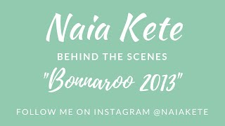 Bonnaroo 2013-Naia Kete My Road Trip to Bonnaroo-Episode 1
