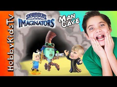 Video Game MEGA Surprise Toys Man Cave Skylanders Legos HobbyKidsTV