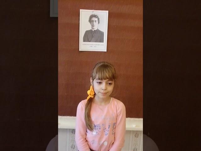 Изображение предпросмотра прочтения – ВероникаРыбальченко читает произведение «Ветхая избушка» А.А.Блока