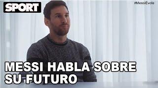 💣 LEO MESSI habla sobre su FUTURO en el FC BARCELONA 🗣: