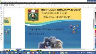 CREACIÓN DE AFICHES: TUTORIAL COREL DRAW PARTE 4