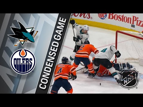 03/14/18 Condensed Game: Sharks @ Oilers