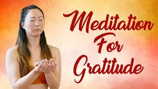 Feel More Fulfilled & Blissful ♥ Guided Meditation for Gratitude & Relaxation | Julia Bennett |