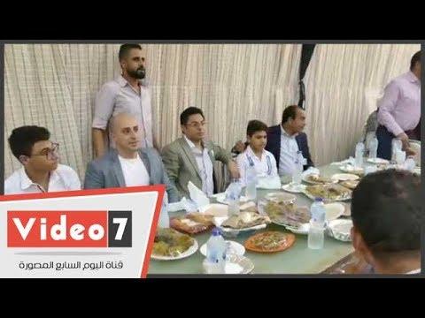 اليوم السابع :فيديو  خالد أبو بكر يقيم حفل إفطاره السنوى بقرية سرسنا