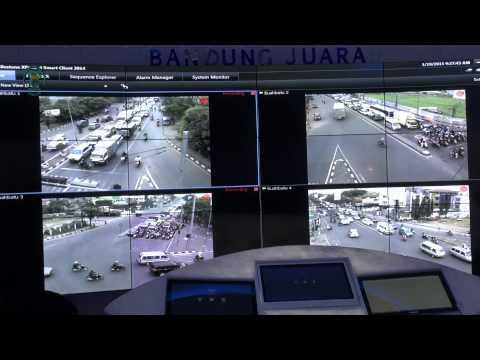 150119 Uji Coba Bandung Command Center
