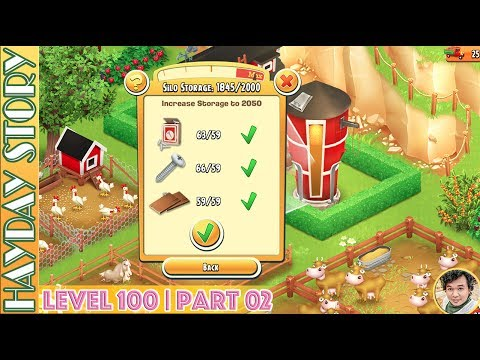 Upgrade Silo Storage To 2050 in Hay Day Level 100 | Part 02