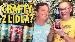 """""""Crafty beers"""" z Lidla w UK"""
