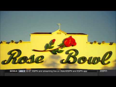 ESPN's 2016 Rose Bowl open