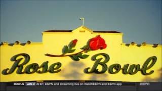 ESPN's 2016 Rose Bowl open - Narrated by Brent Musburger