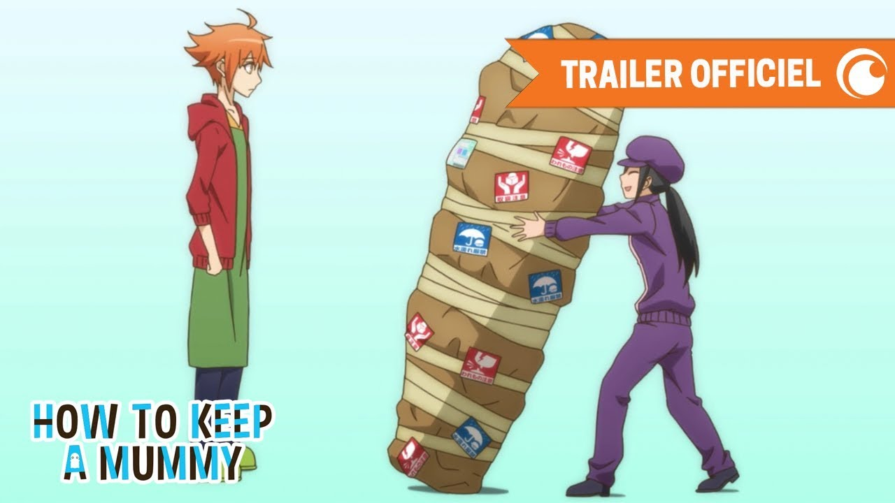 How To Keep A Mummy Trailer Officiel Crunchyroll Youtube How to keep a mummy🍭 ミイラの飼い方 🍭well come go back. how to keep a mummy trailer officiel crunchyroll
