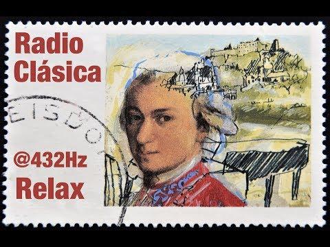 Radio Música Clásica @432HZ para mayor Relajación y Concentración