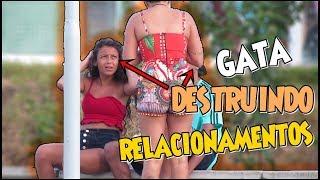 GATA DESTRUINDO RELACIONAMENTOS - PEGADINHA #DESAFIOALVARENGA 06