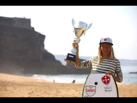 Joana Schenker wins first world bodyboarding title for Portugal