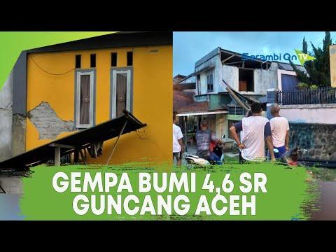 Gempa bumi dengan kekuatan 4,6 Skala Richter Guncang Aceh