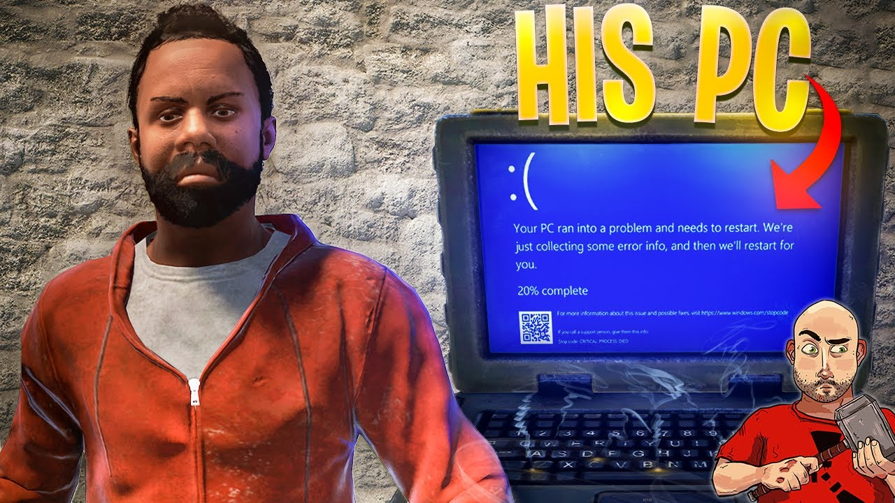I Gave This RUST CHEATER Blue Screen Of Death (BSOD)
