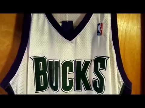 Tim Thomas Milwaukee Bucks Authentic Jersey Review