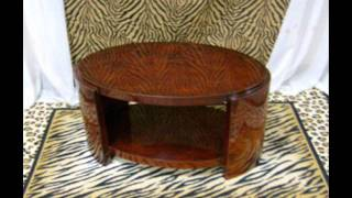 Art Deco Style Tables And Art Deco Stlyle Side And End Tables