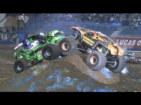 Toughest monster truck tour 2017 ABQ/Rocket car