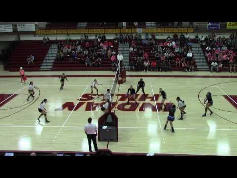 Indian Hills VS Iowa Western Volleyball 11.8.16