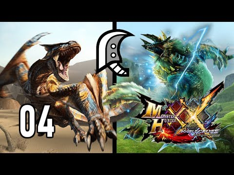 TIGREX / ZINOGRE (Gran Espada Valor) ep4 - Monster Hunter Generations Ultimate (Gameplay Español)