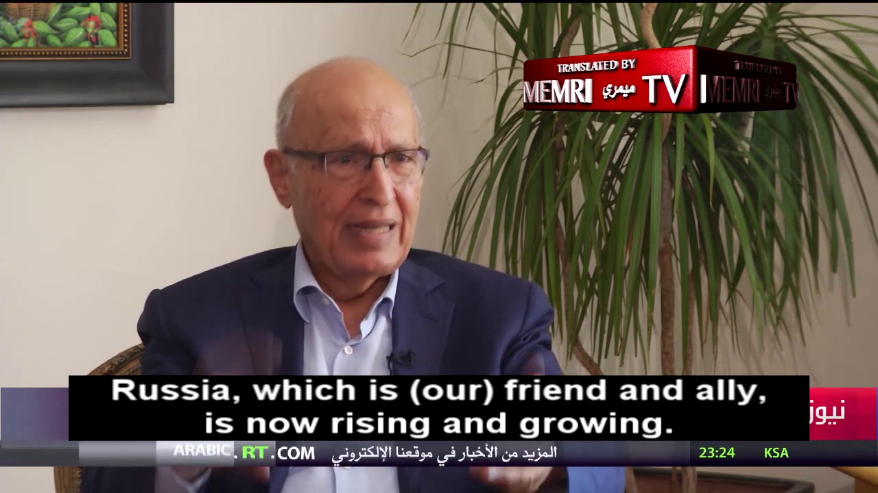 Advisor to PA President Abbas: We Should Persevere Until the U.S. Loses Control of the World