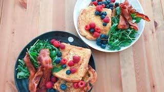 我的早午餐 - 法蘭西多士 - My French toast brunch