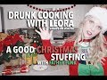 DRUNK COOKING - A good Christmas Stuffing with Father Funk (VEGAN RECIPE)