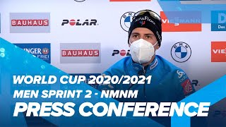NMNM World Cup 9: Men Sprint Press Conference