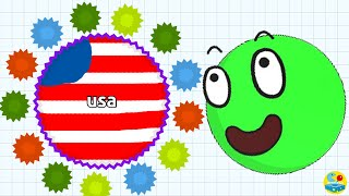 Agario Instant Merging Private Server Trolling In Team Mode (Agar.io Funny Moments)