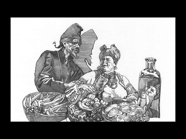 Изображение предпросмотра прочтения – ОльгаТимохина читает произведение «Сорочинская ярмарка отрывок» Н.В.Гоголя