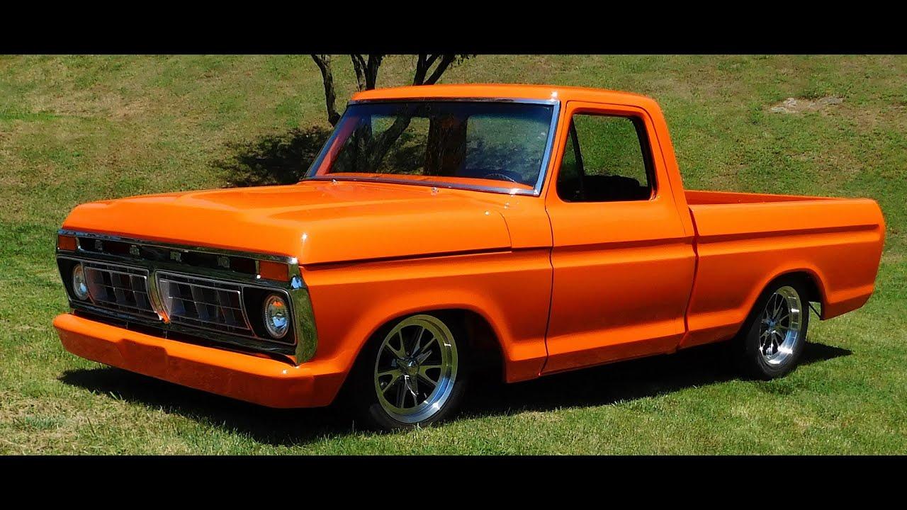1976 Ford F100 Street Truck 2016 National Street Rod ...