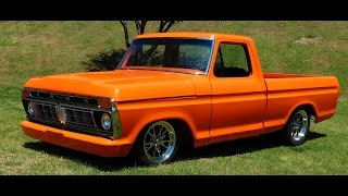 1976 Ford F100 Street Truck 2016 National Street Rod Association Street Rod Nationals South Plus