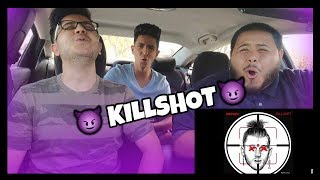 Eminem - KILLSHOT [Official Audio] /  Reaction! R.I.P MGK career ended!?