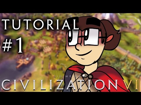 Civilization 6 - A Tutorial for Complete Beginners - Part 1 - YouTube