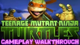 TMNT: Out of the Shadows GAMEPLAY WALKTHROUGH! Teenage Mutant Ninja Turtles XBLA, PSN, and PC Game!