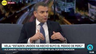 """Rafael Vela sobre caso Toledo: """"Es el inicio del procedimiento final de extradición"""""""