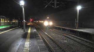 【H100形と最初で最後の出会い】北陸本線・列車撮影記 683系・681系・521系・EF510(加賀温泉駅)2020年1月5日